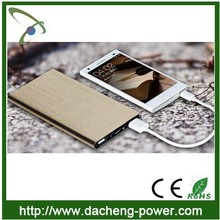 Super thin universal external portable power bank 10000mAH