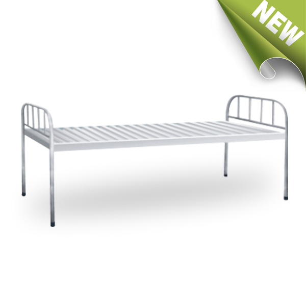 strong modern designer stainless steel single bed