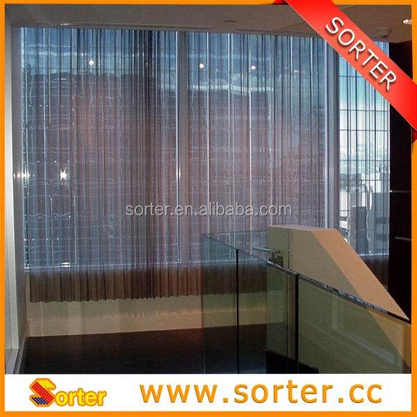 China Metal Drapery/wire mesh shower metal curtain