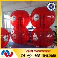 2015 Giant PVC/TPU 1.2/1.5/1.7m Inflatable Water Giga Bumper Bubble Jumbo Ball