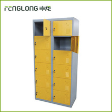 Knock down steel locker cabinet iron steam cabinet for clothes