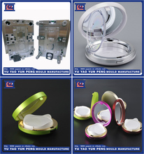 Air Cushion bb cc case Injection Mold for Plastic Cosmetic Compact Container