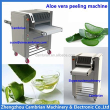 1500kg/h commercial automatic nopal/ aloe vera peeler machine with lowest price