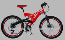 Full suspension children mountain bike/ 18 speed children mini mountain bicycle