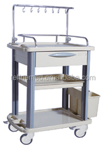 With raised-edge design Ivtreatment trolley E-12