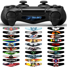 LED Light Bar Cover Vinyl Decal Skin Sticker For SONY PlayStation 4 PS4 Controller Accessories