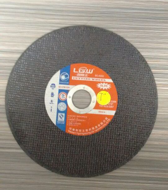 H503 Black 7''inch 180mm 2nets Cutting wheel for metal and stainless steel/ABRASIVES PRODUCTS from China