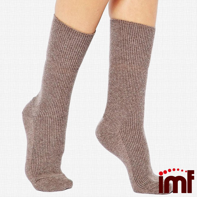 Custom Colorful Smart Wool Socks Handmade 100 Wool Thermal Socks