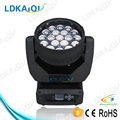 RGBW 4 in 1 Zoom Led Beam Moving Head Light 19*12w high brightness for concert pro show lighting