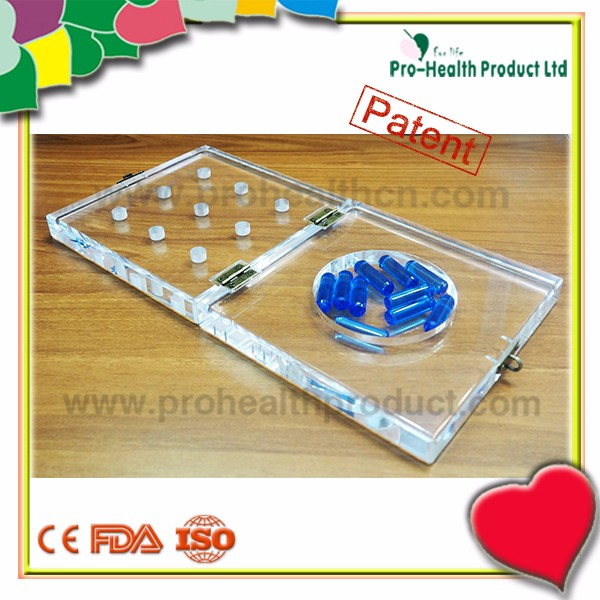 9-Hole Parkinson's Disease Physical Therapy Equipment Plastic Pegboard