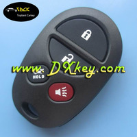 2+2 button keyless remote case with button pad for toyota key toyota remote key case