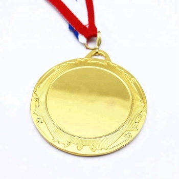 Fashion design blank insert medal