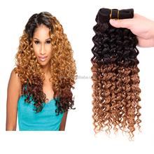 5A grade micro loop 1g jerry curly human hair weft,100% virgin Brazilian hair weaving,hair extension