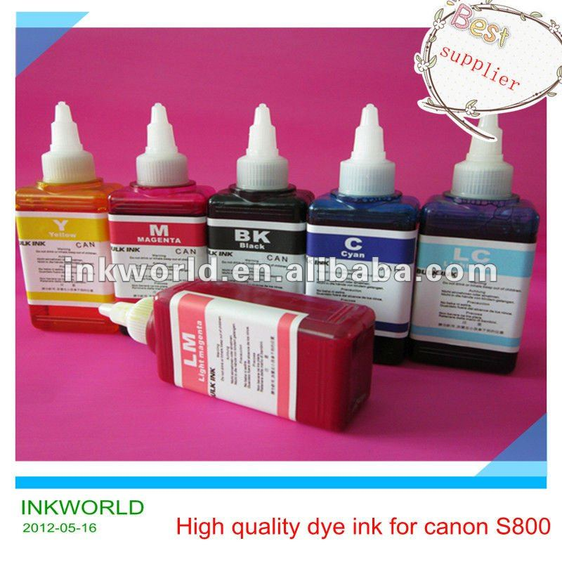High quality tinta tine used for Cannon S800 printer