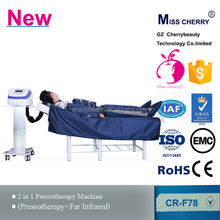 high Quality infrared light therapy devices pressotherapy slimming machine for fat removal