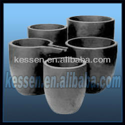 high quality graphite crucible cast iron crucible