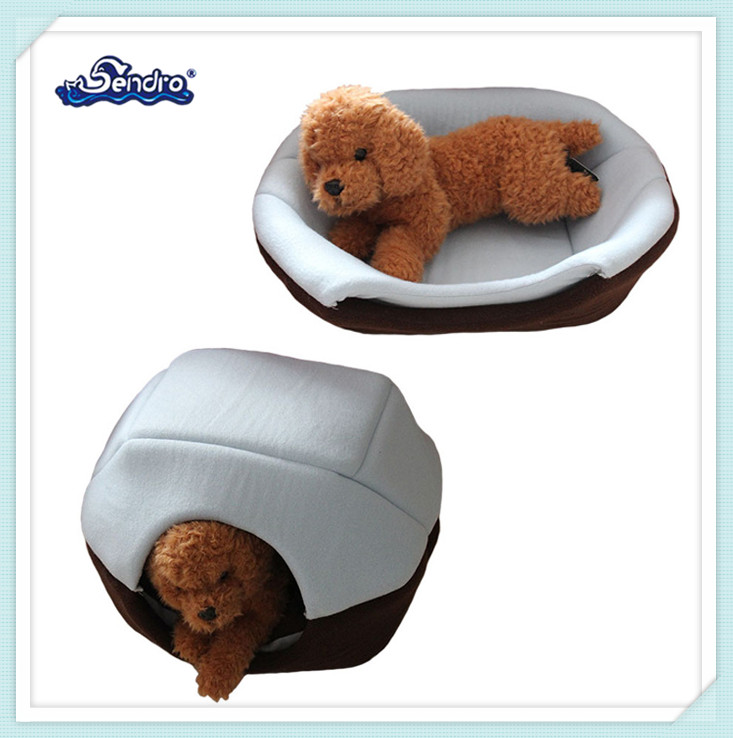 cheap price multifunctional folding cat dog house stuffed plush pet bed for sale