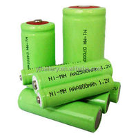 ShenzhenHigh quality ni-mh C 3.6v4500 mah Rechargeable Battery Packs with YJ 12V 800mAh AAA NI-MH battery for emergency light