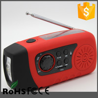New Product home survival kit list with LED torch, FM radio,2000mAh power bank
