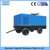 air compressor for drilling rig/air compressor for sand blasting/portable diesel engine air compressor