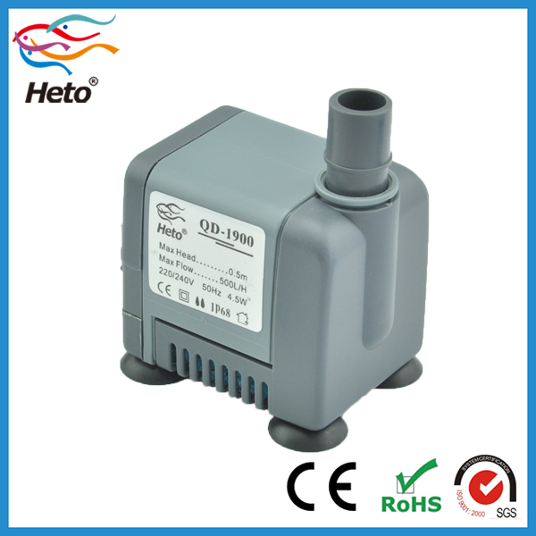 500L/H dc super submersible water pump price low