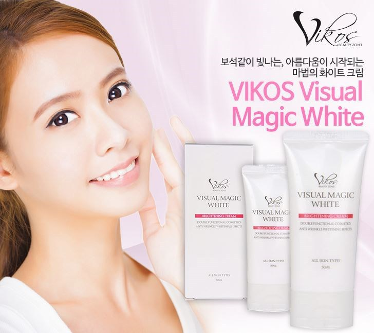 vikos visual magic white cream