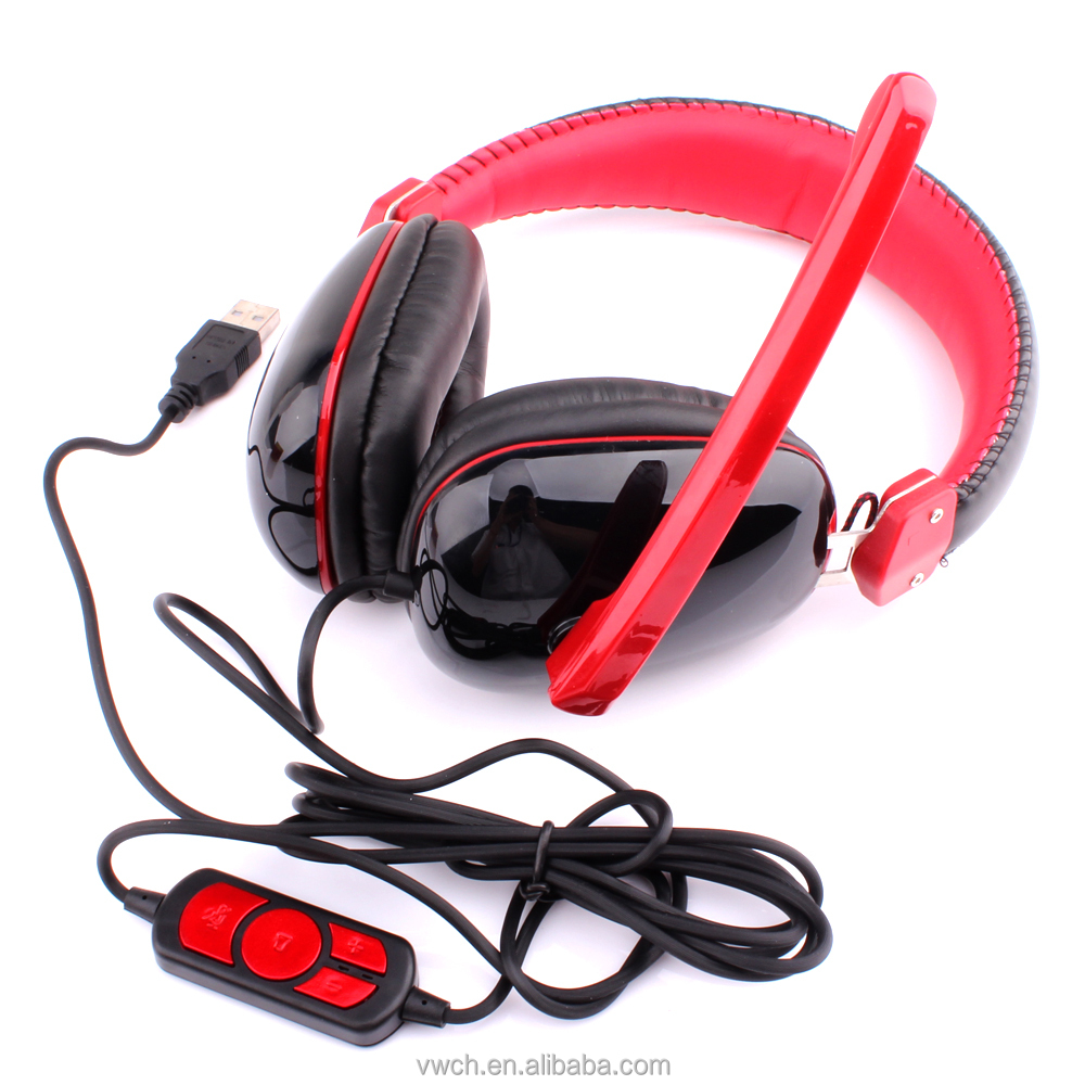 Hot sale Wire Gaming Headset With usb For PS4 /PS3 /XBOX360/ PC
