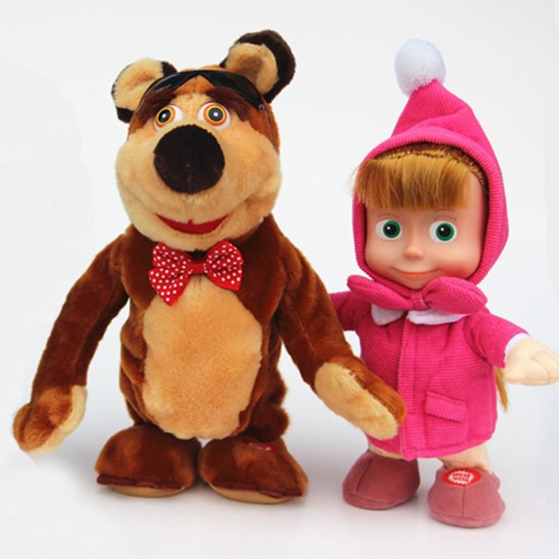 factory OEM masha and the bear mascot costumes