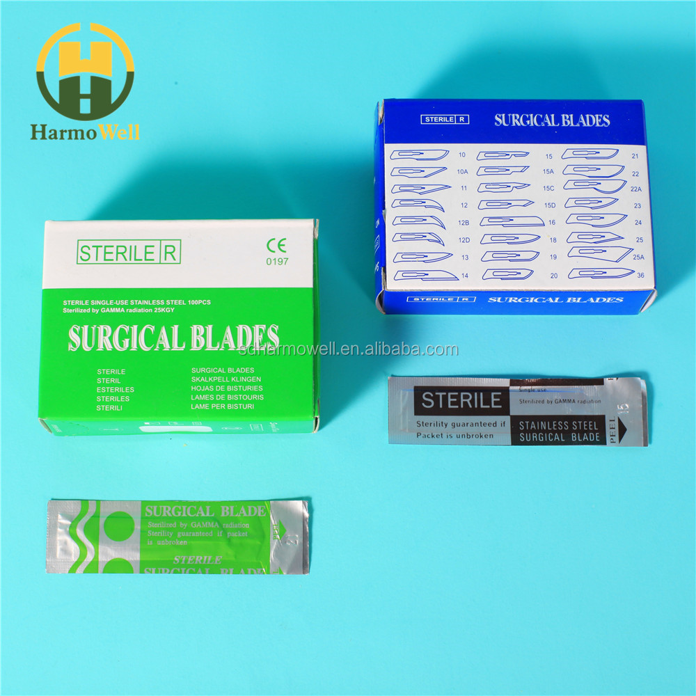 High quality hot sale CE certified surgical blades 20