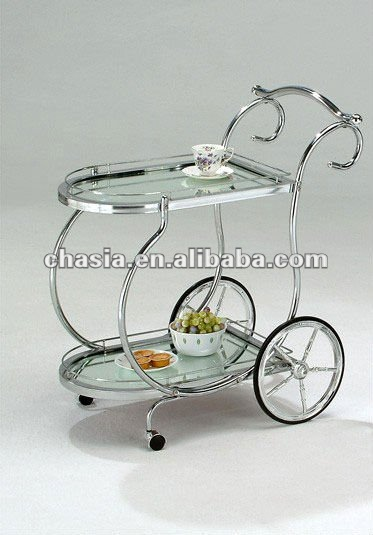 metal tea trolley