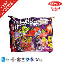 70% Fruit Juice Natural Confectionery Gummy Candy