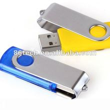 Logo Swivel Usb Flash Memory OEM ODM free logo usb flash memory
