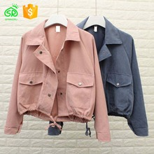 Fashion Warmup Jeans Denim Jacket Manufacturer From China