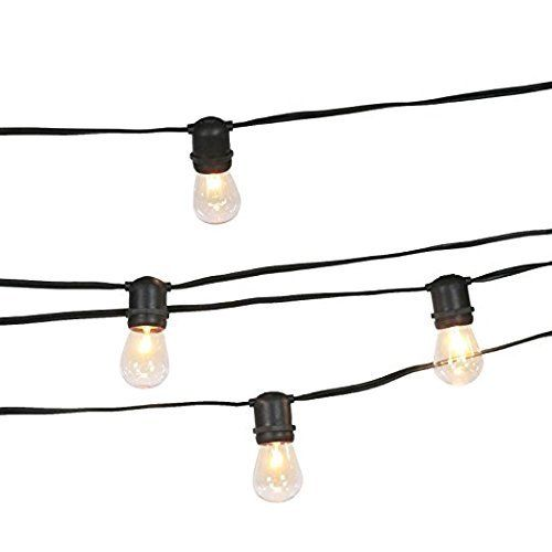 High Quality Led Outdoor Waterproof Wedding Festoon Garden Wedding Backyard Fixed String Lights