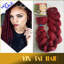 Alibaba Supply Top Quality and Cheapest Price 82'' Premium X-Pression Ultra Braid Synthetic Braiding Hair Expression Xpression