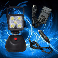 15W Rechargeable Portable Lantern LED Work Light Chargeable Torch Flashlight PA