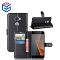 Classic Card Holder With Stand Cover For Vodafone Smart V8 VFD710 Leather Flip Case