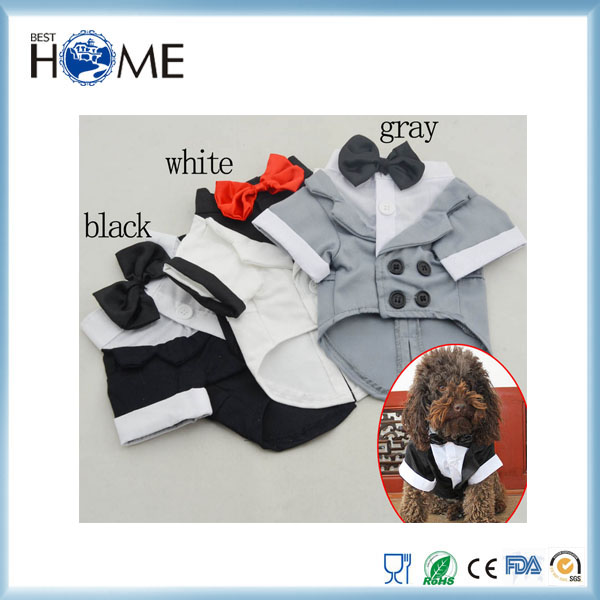 Suit And Formal Dress Wholesale Matching Dog And Owner Clothes Pet Accessories