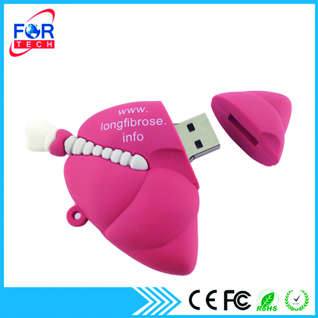 Doctor Happy Holidays Memory Chip USB Flash Drives Lung Shaped Hard Drives 1gb/2gb/3gb/8gb for Thanksgiving Promotion