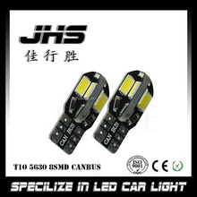 Canbus T10 8smd 5630 5730 LED car Light Canbus NO OBC ERROR T10 W5W 194 SMD Led Bulb