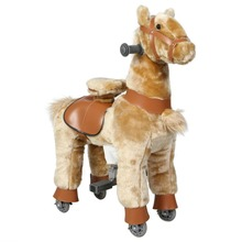 Funtoys Life size mechanical jumping horse kids for sale