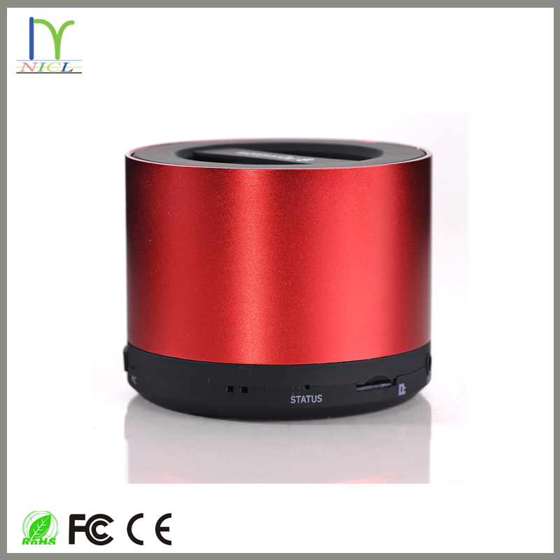 New products mini abramtek tube stack mini bluetooth speaker from NICL