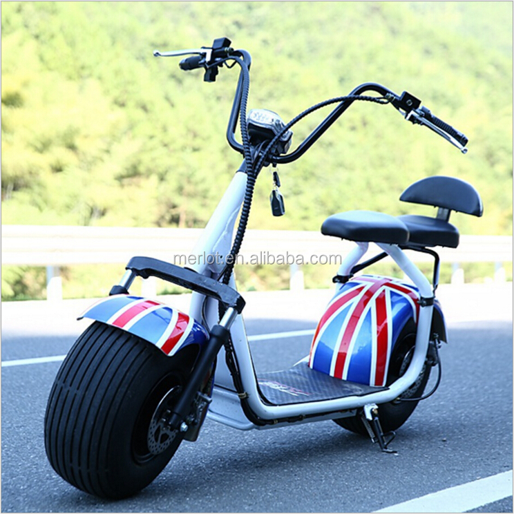 2016 hot sale cheap 1200w citycoco electric motorcycle