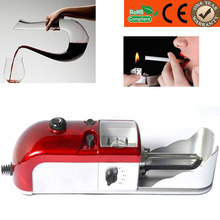 Best quality 8mm electric cigarette rolling machine with US standard adapter