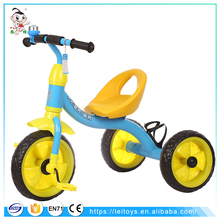 Cheap outdoors simple child tricycle / easy and simple to handle baby trike with safety seat