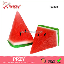S3178 Water-melon 3d Mold Watermelon 3d Silicone Mold Fruit Molds A Piece Watermelon 3d silicone forms for soap 3d mold