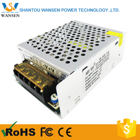 Factory price CE mini constant voltage single output slim led power supply AC/DC regulated 5A 60W 12V small size switching power