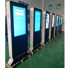 IP65 protection grade outdoor double-sided touch screen lcd digital signage