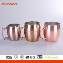 18oz Moscow Sylte Hand Hammered Copper Mug For Cocktail
