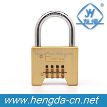 4 Digit Security Combination Password Door Digital Lock Brass Padlock For Luggage Cabinet